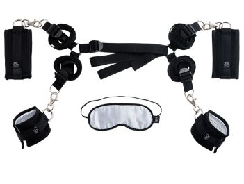 Fifty Shades of Grey Hard Limits Bed Bondage Restraint Kit - Strawberry Blushes