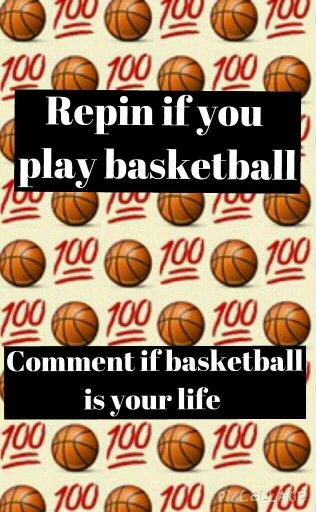 Basketball is my life. When I play I'm so happy. I️ love basketball and I hope that you try something new if you haven't played it before.