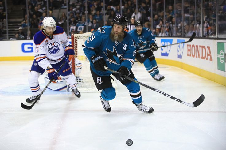 Sharks sign Joe Thornton to 1-year deal after losing Patrick Marleau