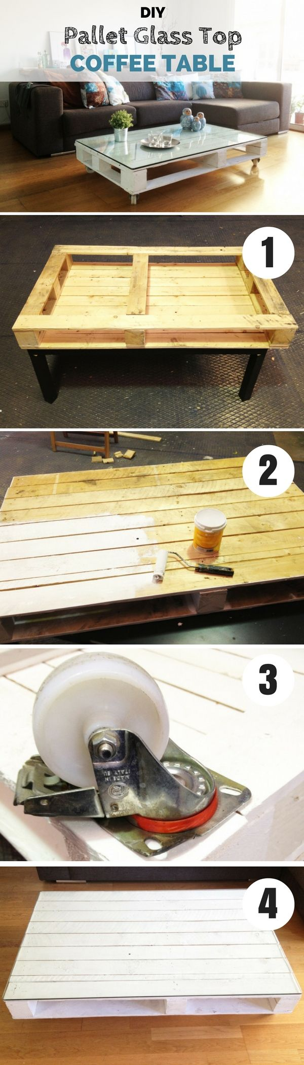 5 Easy DIY Coffee Table Projects - Casuable