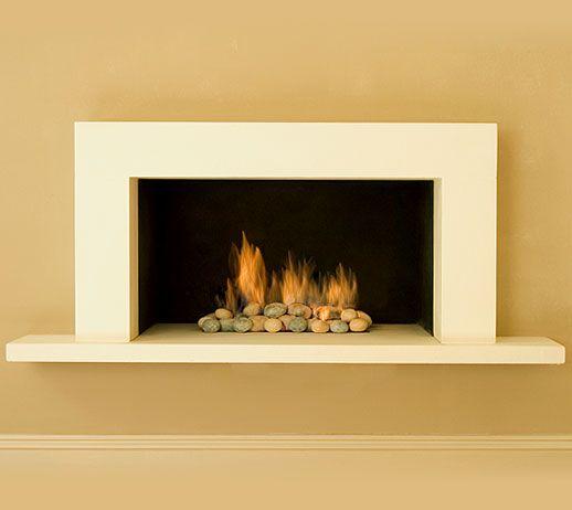 Contemporary fireplace design