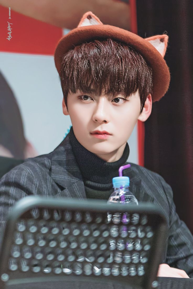 180207 Wanna One at Lotteria Fansign #Minhyun