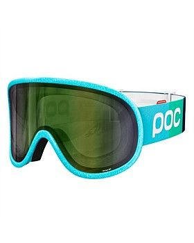 The Retina Julia Mancuso Snow Goggles from POC are women's specific snow goggles that have a soft PU mid-size frame with triple-layer face foam for optimal fit. The double lens is made of optical grade materials and has the best anti-fog and anti-scratch treatment available to promote vision and resistance. Buy Now http://www.outsidesports.co.nz/Brands/POC.htm#catpage=6
