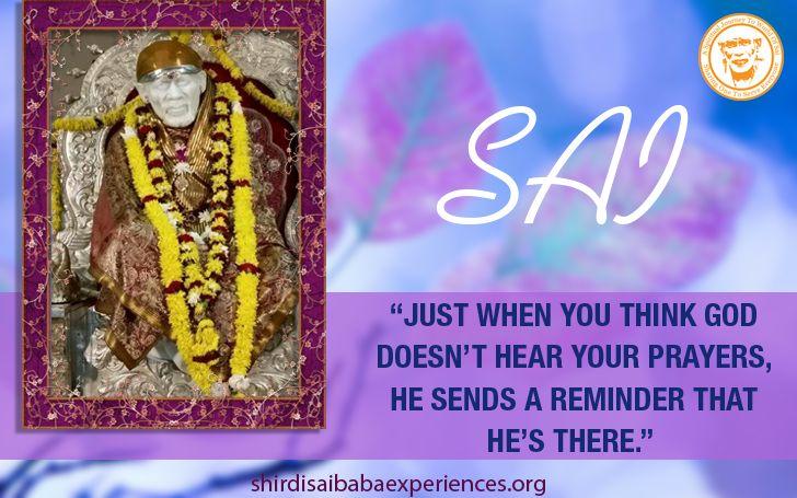 He Sends A Reminder - Shirdi Sai Baba Wallpaper - Free Download - Shirdi Sai Baba Life Teachings and Stories