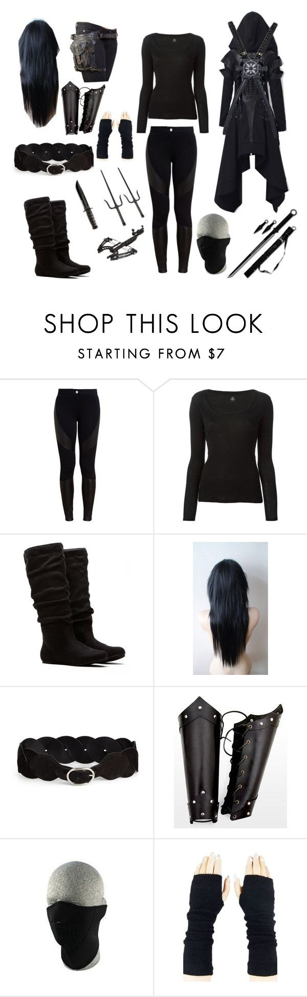 """""""Assassin"""" by thenightshadowess ❤ liked on Polyvore featuring Givenchy, Petit Bateau and Emilio Pucci"""