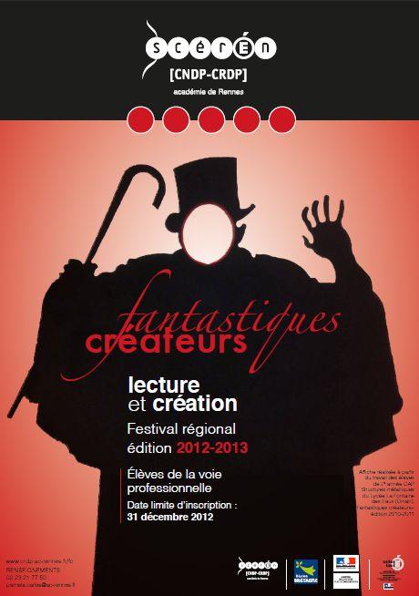 Fantastiques créateurs, édition 2013 / CRDP de l'académie de Rennes