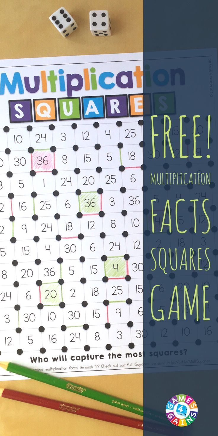 Best 25 memorizing multiplication facts ideas on pinterest this free game is perfect for helping students memorize their multiplication facts gamestrikefo Image collections