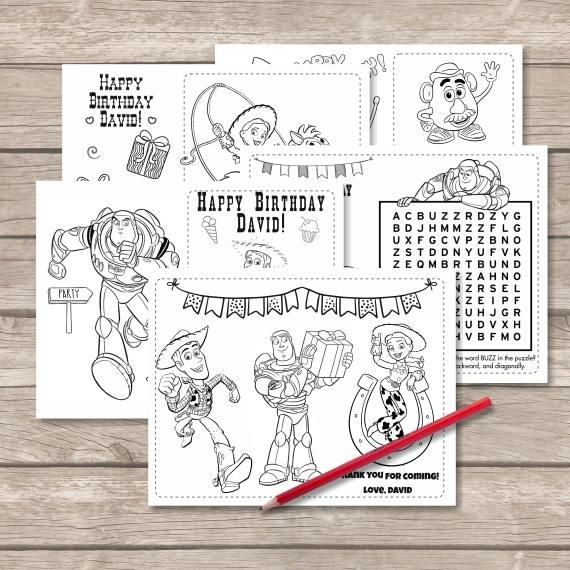 Toy Story Happy Birthday Coloring Pages Tips