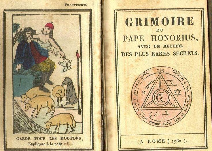 Grimoire de Pape Honorius