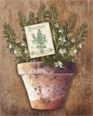 Potted Herbs II (Kate Ward Thacker)
