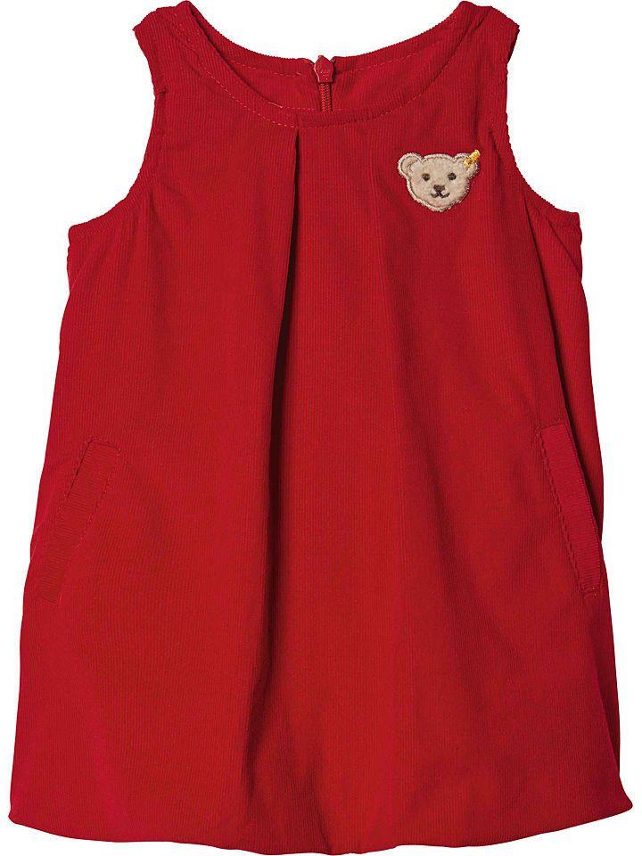Cordkleid in Rot | Cordkleid, Softshell jacke, Kleider