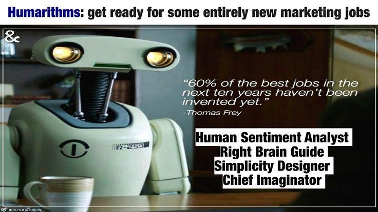 """""""60% of the best jobs in the next ten years haven't been invented yet"""" #futuristgerd"""