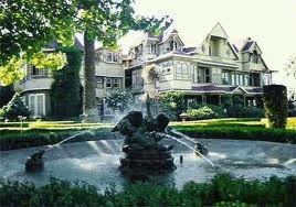 The Winchester Mansion in San Francisco...  One of The most famous haunted houses!