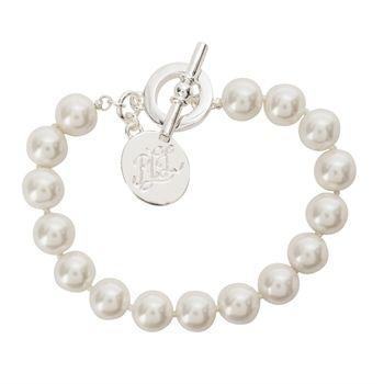 Lauren Ralph Lauren Faux Pearl Bracelet | from Von Maur #VonMaur #StyleCorner #Pearls