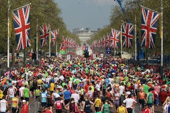 Virgin London Marathon 2012 - includes route map