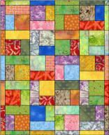 I love to make the Turning Twenty quilt using 20 fat quarters.  :)