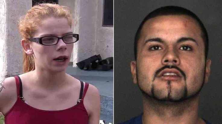 Authorities in San Bernardino, California are investigating an incident in which a man doused his ex-girlfriend in gasoline and attempted to set her on fire.