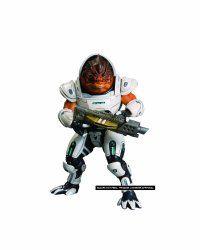 Big Fish Toys Mass Effect 3: Series 1: Grunt Action Figure