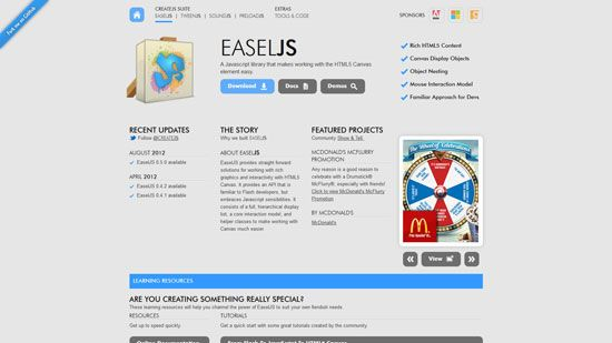 Javascript  HTML5 Game Engines Libraries – 51 Examples