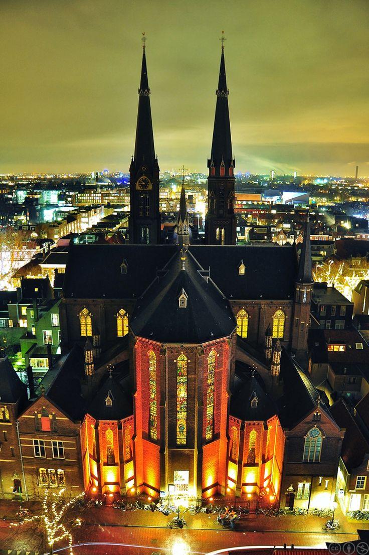 Maria van Jessekerk, Delft, Zuid-Holland.