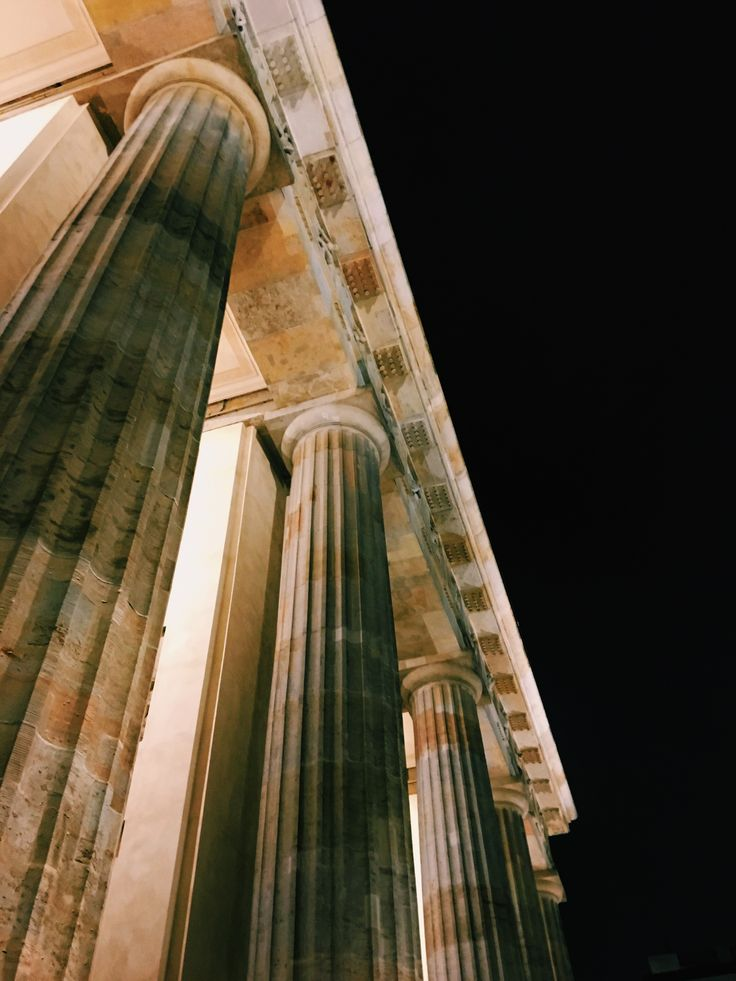 #brandenburgtor #berlin #photography #columns #night #architecture