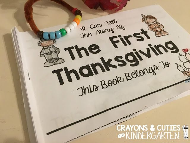 Free Thanksgiving Booklets