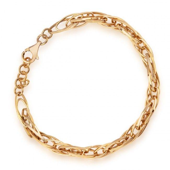 Złota Bransoletka, 599 PLN, www.Bejewel.me/zlota-bransoletka-456 #jewellery #gold #bejewelme #bjwlme #shoponline #accesories #pretty #style