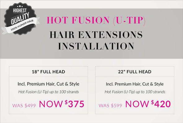Superior Hair / New Zealand - Hot Fusion (U-Tip)