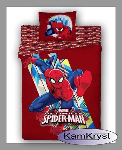 SpiderMan Bedding store KamKryst   Pościel SpiderMan #spider_man_bedding #spiderman_bedding #kids_bedding