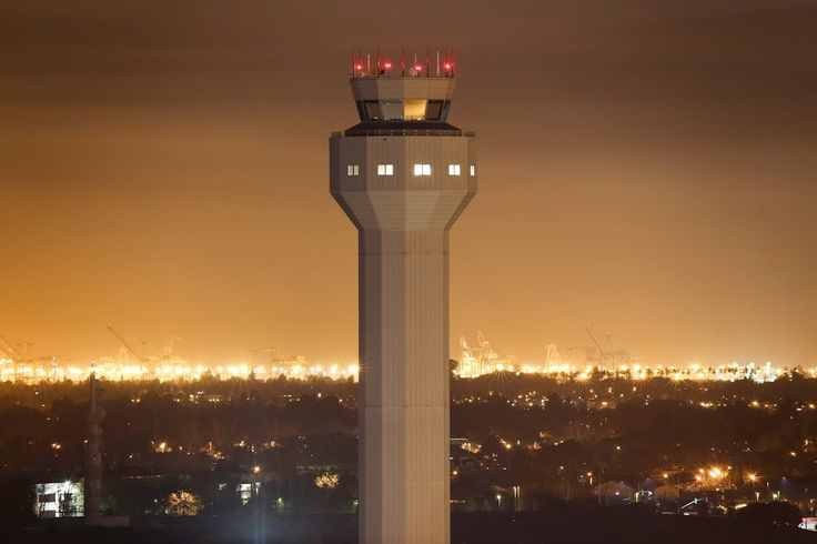 Oakland International Airport has build a single  236-foot-tall environmentally friendly airport traffic control tower.