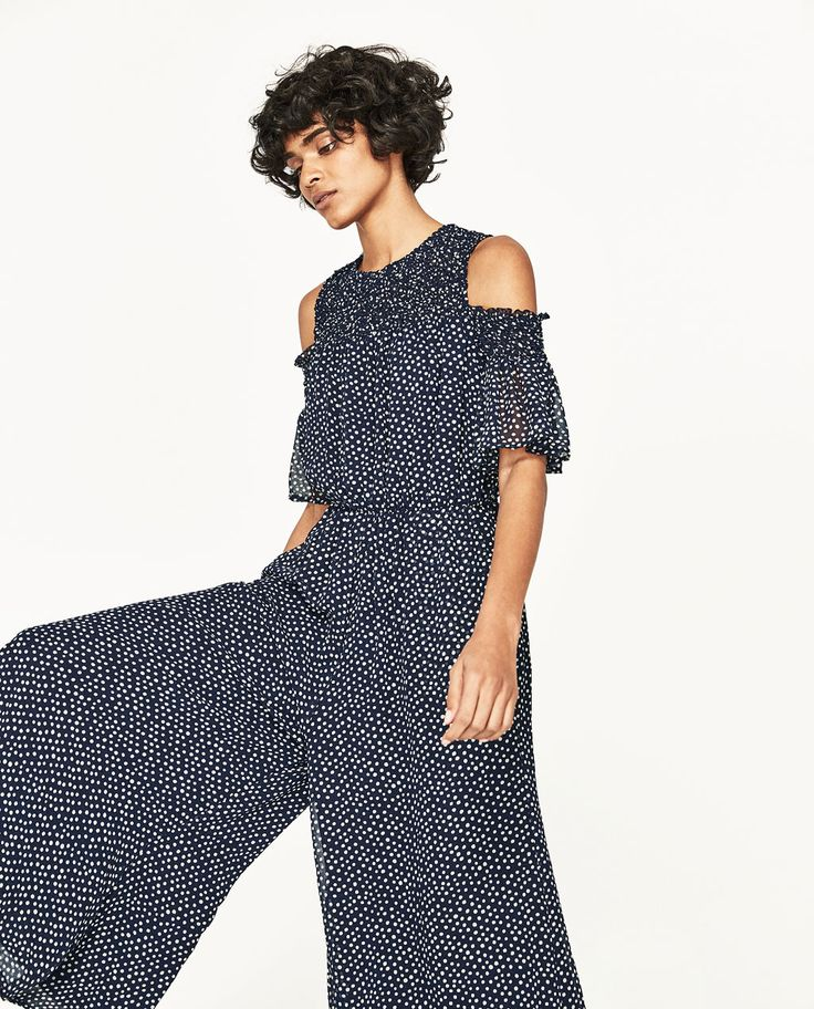 POLKA DOT JUMPSUIT-JUMPSUITS-WOMAN | ZARA United States