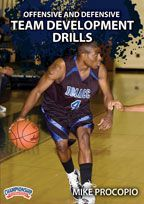 Offensive and Defensive Team Development Drills - Coach's Clipboard #Basketball DVD Store