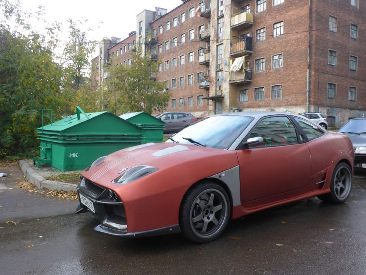 Fiat Coupe with a Mitsubishi Twin-Turbo V6 and AWD drivetrain