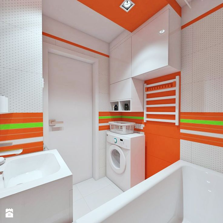 zabudowa obsługująca pralkę - zdjęcie od WNĘTRZA GRAFIKA WYSTRÓJ WGW