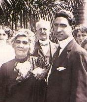The Honourable Mr. John 'Aimoku Dominis with Queen Lili'uokalani