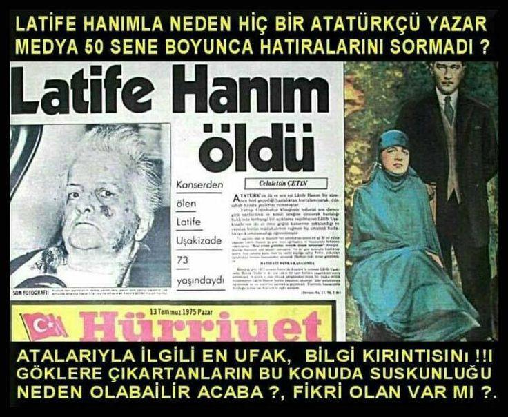Atatürk mason Latife hanım Kemalizm