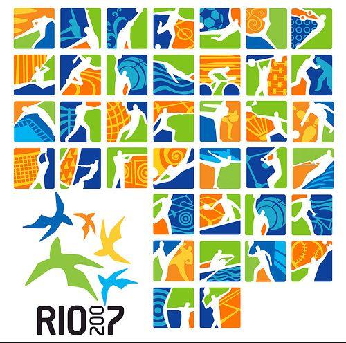 Olympic Games Pictograms [Rio de Janeiro 2007]