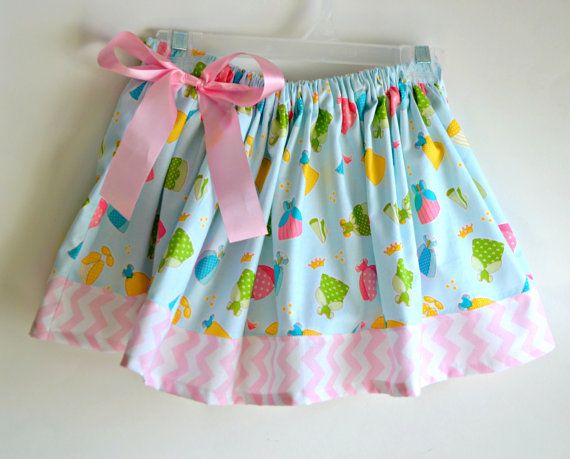 Princess Dresses Girls Skirt with Pink by JellyLouCreations, $18.00