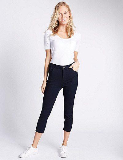 Super Skinny Cropped Jeans $31 (Marks & Spencer)