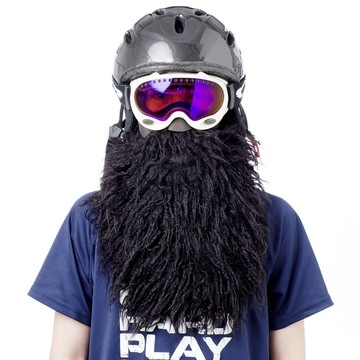 Beardski Ski Mask Black, 26€, now featured on Fab.