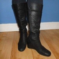 NEXT Black Wedge Leather Boots Size 5 – Newcastle Upon Tyne – Tyne and Wear – Clothes, Shoes & Accessories | Online Car Boot Sale UK