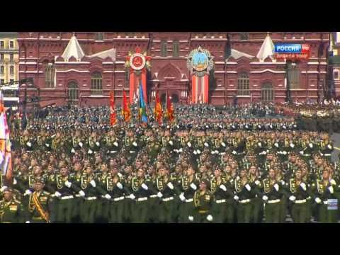 [FullHD 60 FPS] Russian Army Parade Victory Day, 2015 Парад Победы 70 ле...