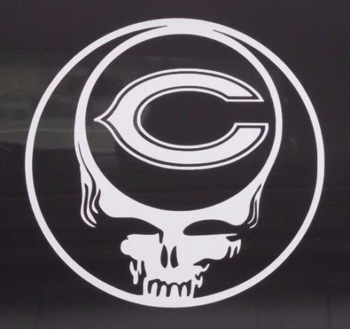 Chicago bearsgrateful dead decaldie cut vinyl stickersteal your face