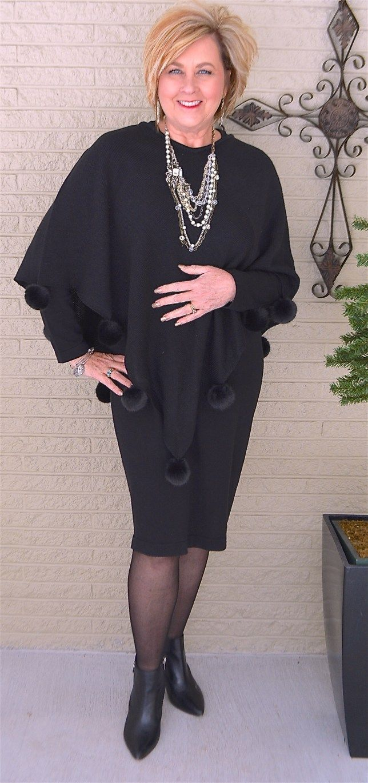 Black dress for women over 60