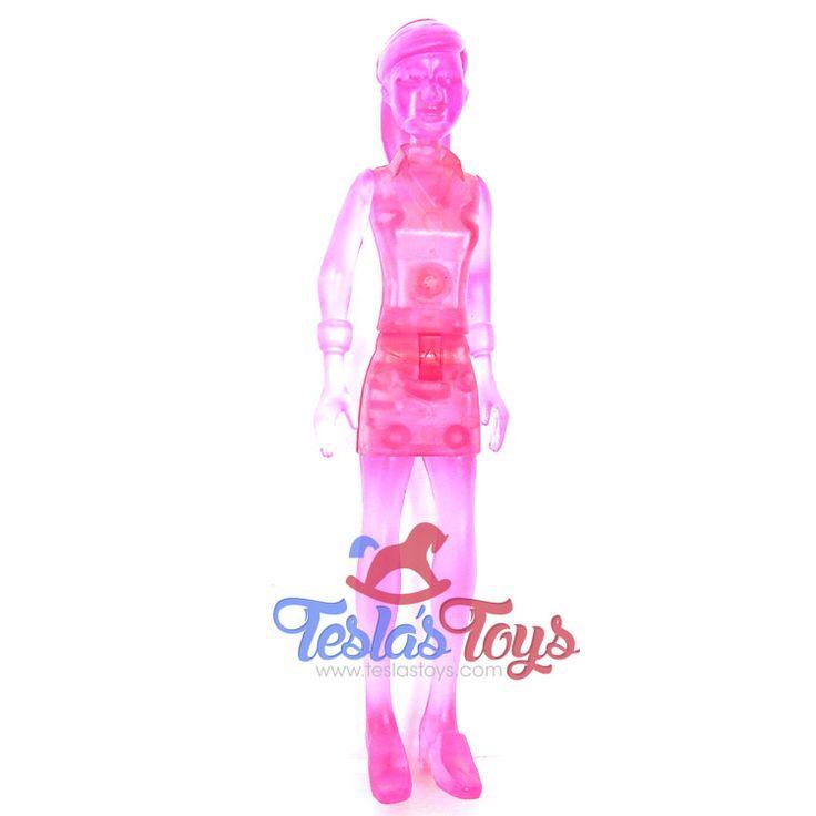 Ben 10 Ultimate Alien Action Figure - Clear Pink Gwen Tennyson (Loose), 11.99  #actionfigure #ben10 #ben10ultimatealien #gwentennyson