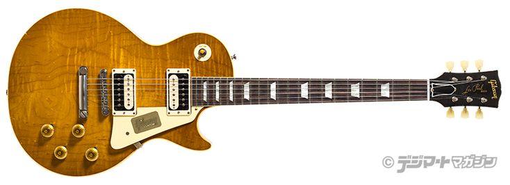 """ハードロック・メイプルを纏った特別なレス・ポール、1958 Les Paul """"Hard Rock Maple Top"""" 連載コラム 週刊ギブソン Weekly Gibson【デジマート・マガジン】"""