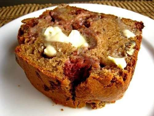 Strawberry sour cream bread | Good Eats | Pinterest
