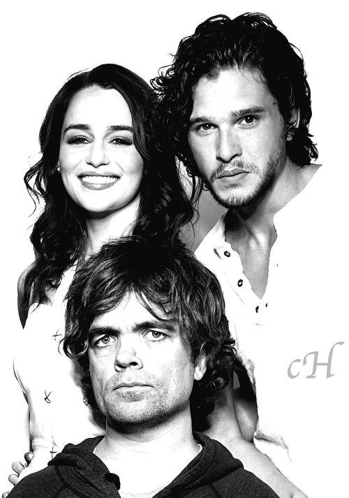 John, Tyrion and Daenerys