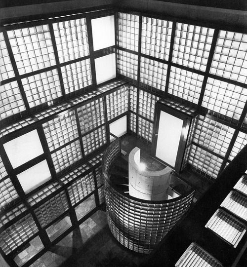 """Glass block house """"Ishihara House"""": Tadao Ando Houses, Evoc Architecture, Andoishihara Houses, Glasses Blocks, Architecture Elements, Blocks Houses, Architecture Ideas, Houses Ishihara, Architecture Classic"""