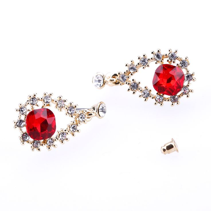 Find More Drop Earrings Information about 2017 Zenper multicolor crystal earrings set pendientes valentine's day earrings water drop earrings for women bear jewelry ,High Quality earring drop,China earrings green Suppliers, Cheap earrings frog from Yiwu zenper accessories crafts co.,ltd  on Aliexpress.com